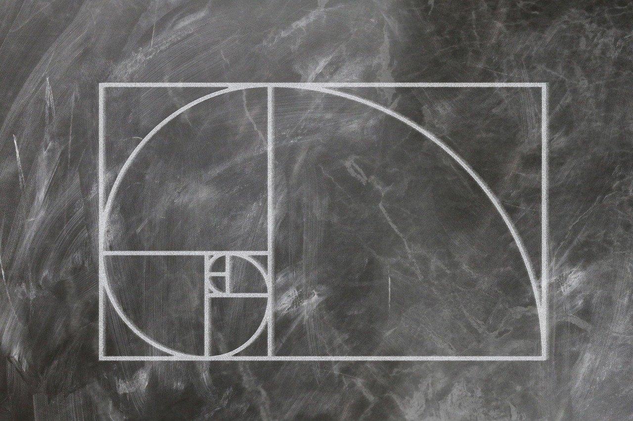 fibonacci, spiral, science